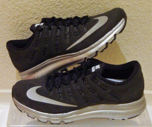 Air Us Silver 2016 Premium Black Uk Hombre 7 Size Nike Max Eur 41 Nuevo 8 81n58