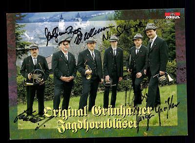Sammeln & Seltenes Praktisch Original Grünhamer Jagdhornbläser Autogrammkarte Original Signiert ## Bc 64086 Musik
