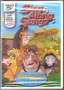Details About Disney Sing Along Songs Home On The Range Little Patch Of Heaven Dvd Brand New