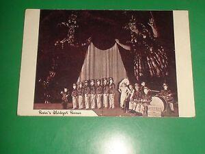Details about ZU121 Vintage Postcard Rose's Midget Revue Uniforms Band  Stage Circus