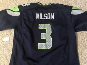 Details about Russell Wilson Nike On Field Seattle Seahawks Jersey Youth XL X-Large 18 20