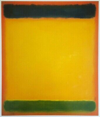 Number 10 by Mark Rothko Art Print Abstract Offset Lithograph Poster 11x14