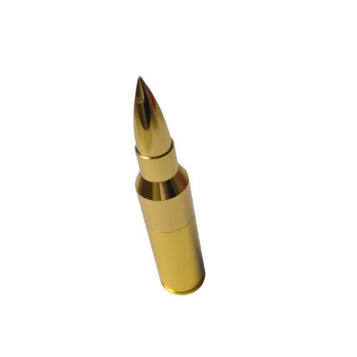 1X PC Gold 16GB USB 2.0 Metal Bullet Shape Flash Drive Portable Memory Stick USA