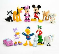 12pc Mickey Mouse Clubhouse Playset 12 Figure Cake Topper * USA SELLER* Toy Set