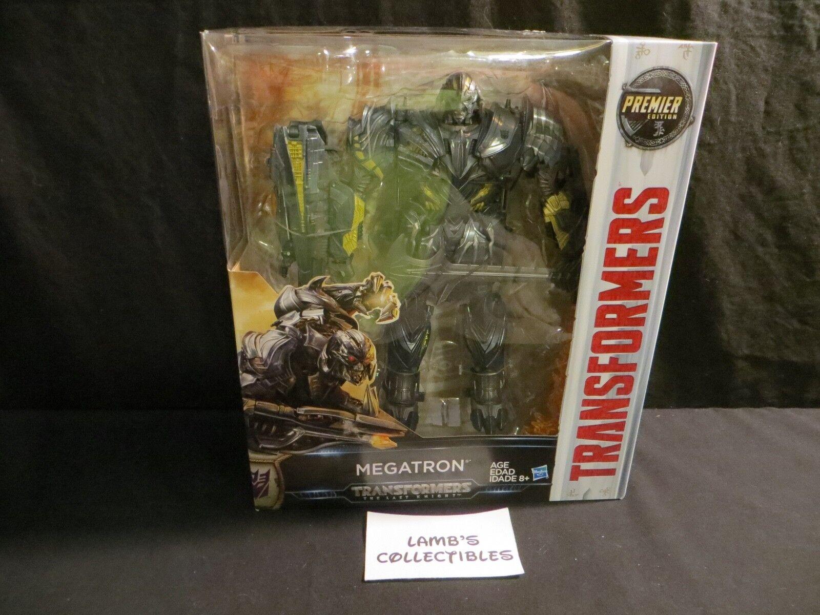 The Last Knight Premier Edition Leader Class 8  Megatron Transformers Hasbro