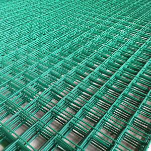 GREEN PVC COATED MESH WIRE FENCING PANEL LARGE GARDEN OUTDOOR 1.8M x ...