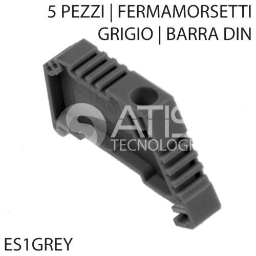 Fermamorsetti Lock Terminals din Bar End Support Bracket Grey5 XES 1 Grey