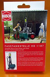 Busch 1187 Kit Fasstankstelle H0 Scale 1 87 Nouveau Neuf Dans Sa Boîte-afficher Le Titre D'origine