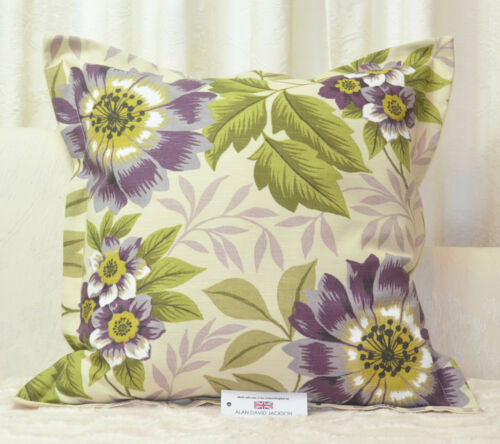 "CUSHION COVER 23.5/""x23.5/"" 60cm sq Oxford Style iLiv Jewel Purple Cotton Blend"