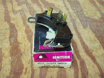 1965 1966 Buick Chevy Oldsmobile Pontiac neutral saftey switch #DR415 NOS!