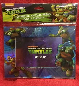 Teenage Mutant Ninja Turtles Magnetic Picture Frame 4 X 6 New In