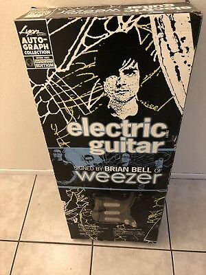 Brian Bell Of Weezer Limited Edition Signed Lyon Washburn Electric Guitar Coa Acoustic Electric Guitars Guitars & Basses