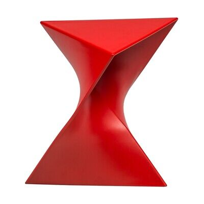 Incroyable LeisureMod Randolph Modern Triangle End Table In Red | EBay