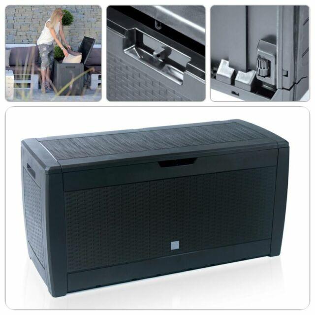 Aufbewahrungsbox Kiste Auflagekiste Garten-Auflagenbox Kissentruhe Kissenbox