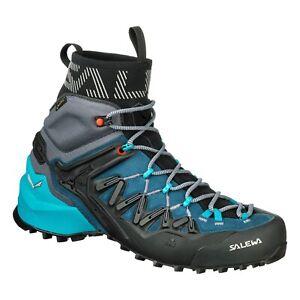 Dettagli su Scarpe Trekking Escursionismo Donna SALEWA WS WILDFIRE EDGE MID GORE TEX®