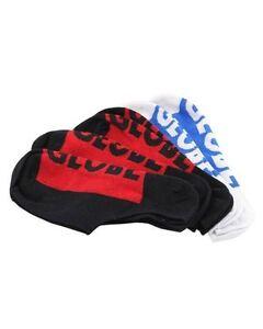 Globe-Socks-5-Pack-Invisible-No-Show-Black-White-Size-7-11-Skateboard-Sox