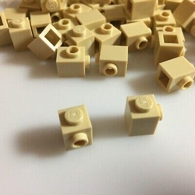 "/""Tan/"" Nose Cone 1x1 Bricks 50 NEW LEGO Brick Yellow 59900//4529237"