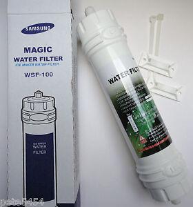 Filtro dell/'acqua magic WSF-100 EF-9603 per Samsung RS 21 DCNS RS 21 DCSV Frigorifero Congelatore