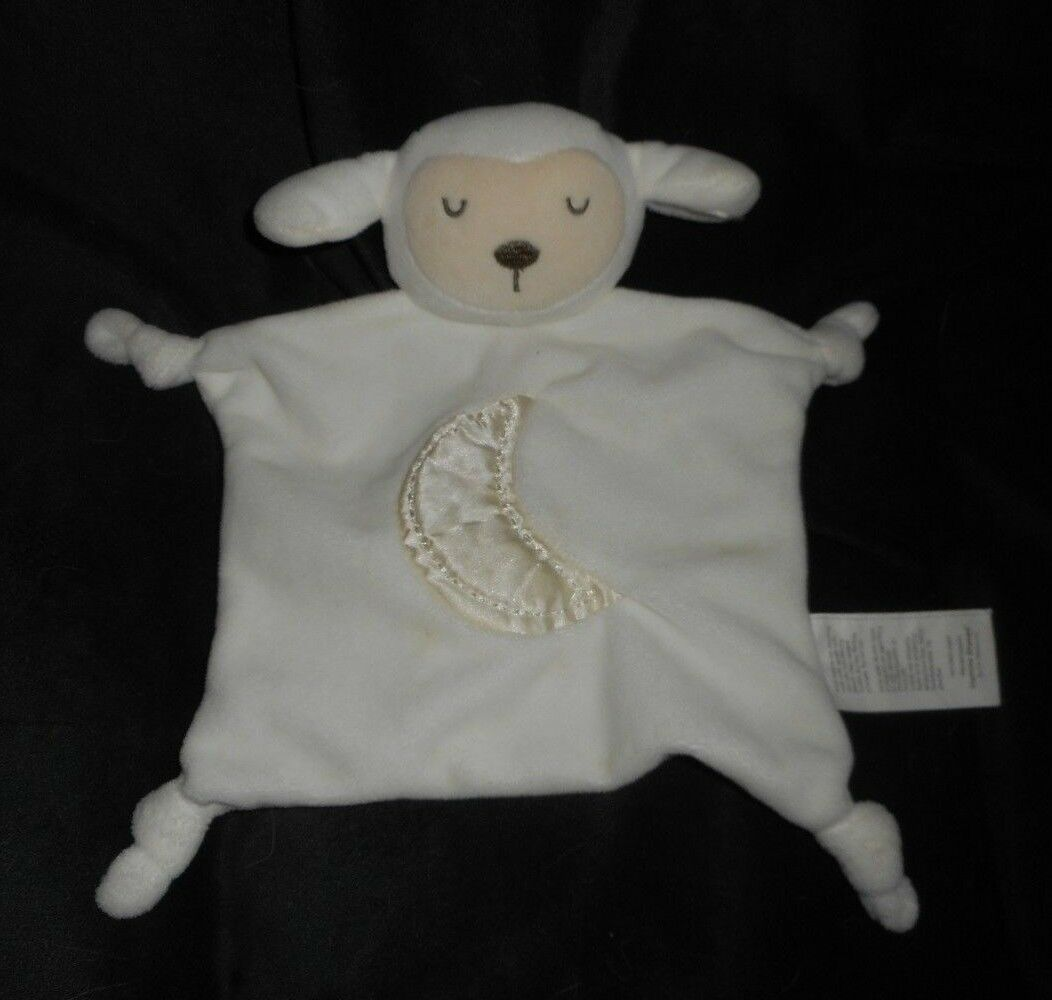 10  STEPPING STONES BABY CREME FLAT LAMB SECURITY SECURITY SECURITY BLANKET STUFFED ANIMAL PLUSH de0e8f