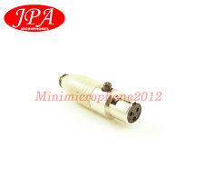 JPA C3A Microdot Adapter FOR DPA 4061 4066 4063 4088 4099 Fits AKG Mic