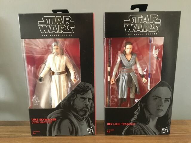 Star Wars Black Series Last Jedi Training Rey & Master Luke Skywalker 6