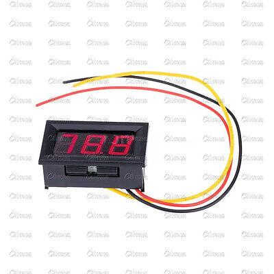 NEW Red LED Panel Meter Mini Digital Voltmeter DC 0V To 99.9V