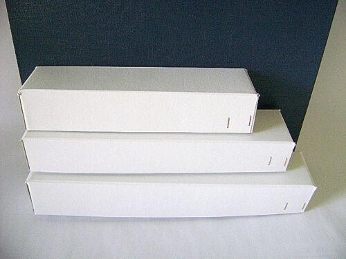 5 Stück H0 Modellbahn-Schachteln für E-Lok/'s 6 Achsen 240x55x45 mm Leerkarton