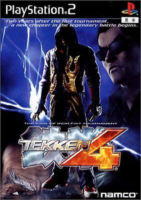 Used Ps2 Tekken 4 Sony Playstation 2 Japan Import Free Shipping