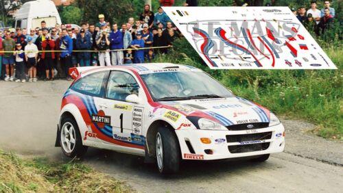 Calcas Ford Focus WRC Rally Barum 2000 1  Rallye decals Bertone
