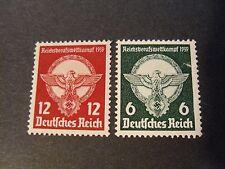 """GERMANIA ,GERMANY 1939 REICH """" 2° Concorso Gioventù operaia """" 2V. Cpl SET MH"""