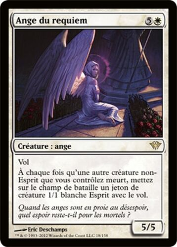 Ange du requiem Ascension Magic NM//M VF R Requiem Angel