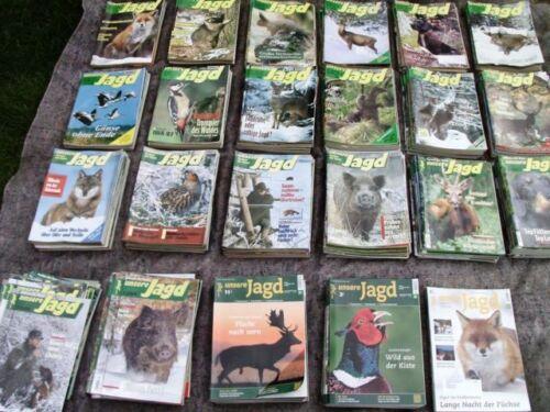 unsere Jagd 55 Jahre Sammlung Nachlass Ausgabejahr 2003 je Ausgabe Jägerzeitung