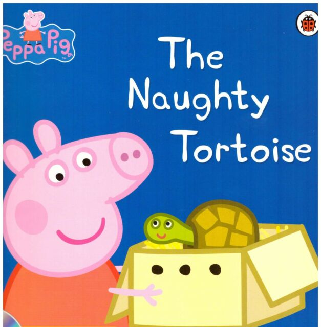 Preschool Bedtime Story - Peppa Pig Story Book: THE NAUGHTY TORTOISE - NEW