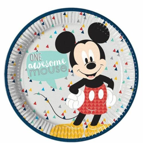 Disney Awesome Mickey Mouse Birthday Party Tableware Decorations