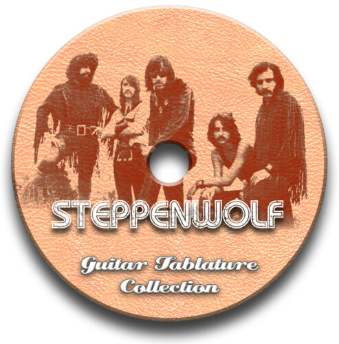STEPPENWOLF ROCK GUITAR TAB TABLATURE SONG BOOK SOFTWARE CD