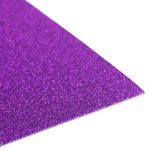 10-Pack Glitter EVA Foam Sheets 13-Inch x 18-Inch