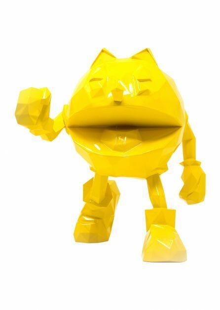 precios bajos todos los dias Richard Orlinski   Pac Man amarillo     2019 Sculpture en Résine Signée  ventas calientes