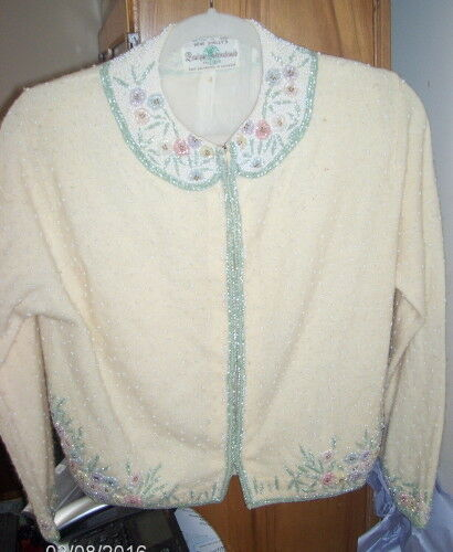 Gene Shelly Boutique Int. Sweater Jacket Yellow Ha