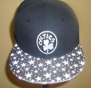 f23de5de557 NEW ERA 9FIFTY SNAPBACK BOSTON CELTICS NBA TEAM CAP HAT COVER M L ...