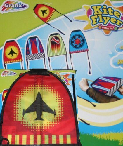 Grafix Mini Kite Flyer Catapult Loops Dives Soars Kids Kites