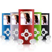 "16GB Slim 4th Mp3 Mp4 Player 1.8""LCD Screen FM Radio Video Games 4TH Generation"