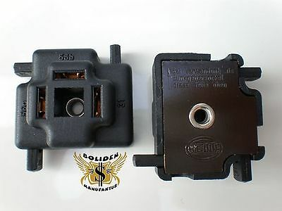 Hella H4 2 Stecker Fassung Sockel Socket Licht Plug /& Play R2 Universal Audi RS