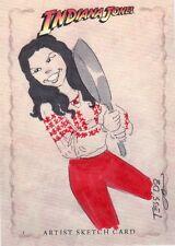 Indiana Jones Heritage Tess Fowler / Marion Ravenwood Sketch Card
