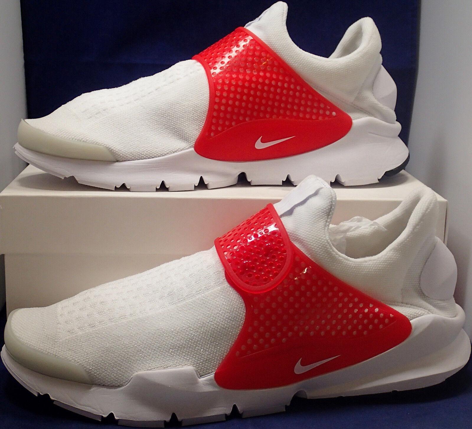Nike sock  id   bianco   rosso sz 13 (880957 991) | Facile da usare  | Scolaro/Ragazze Scarpa