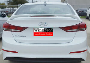 Fits Hyundai Elantra 2017 Custom 2 Post Rear Spoiler Paint To