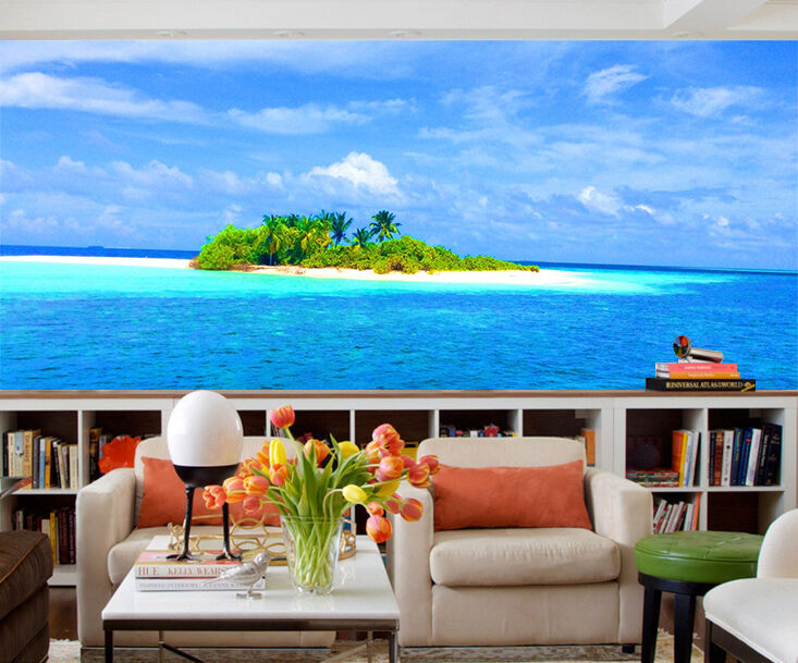 3D Sea Island Scenery 472 Paper Wall Print Wall Decal Wall Deco Indoor Murals