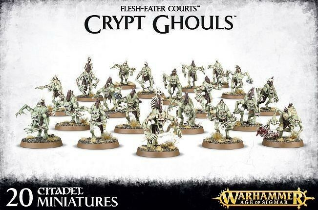 Flesh Eater Courts Crypt Ghouls   Crypt Ghast Courtier Warhammer Age of Sigmar