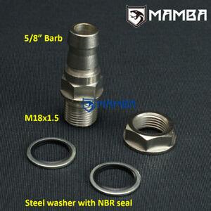 Diy Turbo Oil Pan Sump Return Adapter Bung Fitting M18x1 5