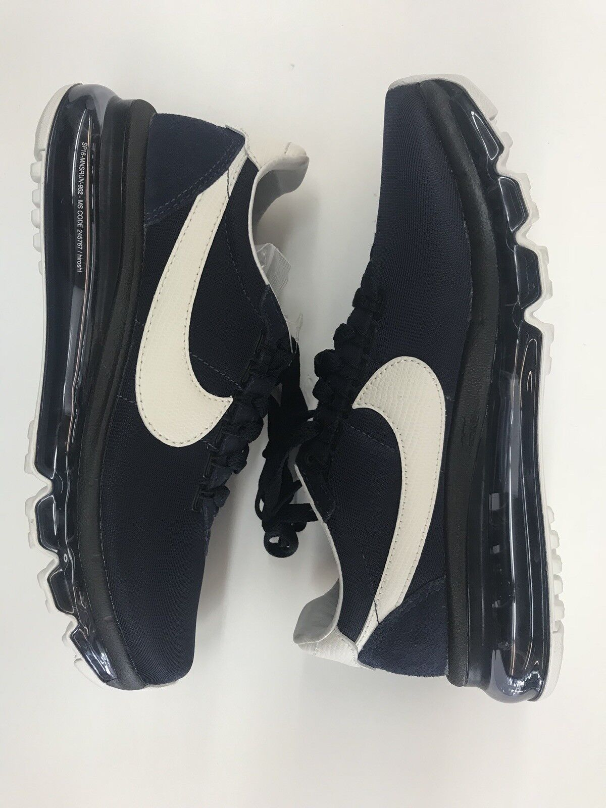 Nike Fujiwara Air Max LD-Zero HTM Hiroshi Fujiwara Nike (848624-410) Mens Size 4.5 918955