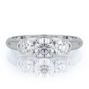 1-CARAT-THREE-STONE-ROUND-DIAMOND-ENGAGEMENT-RING-14K-WHITE-GOLD-D-VS2